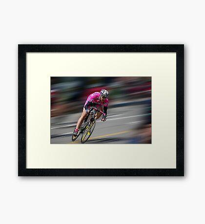 Take it! ~ Tour of the Gila Criterium Race 2010 Framed Print