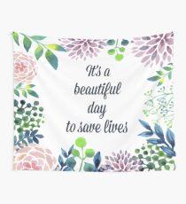 Tela decorativa Es un hermoso día para salvar vidas