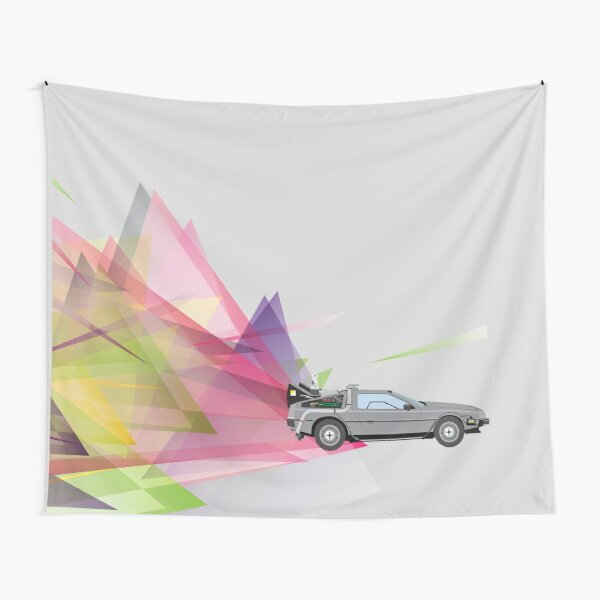 Back to the Future Tapestry