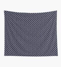 Dachshund Pattern - Navy Tapestry