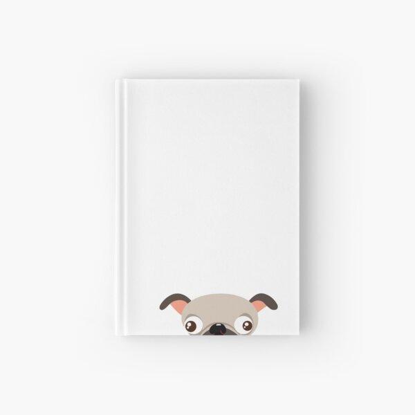 Pug Hardcover Journal