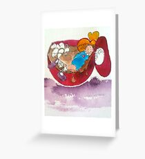Marshmallows 'n Hot Chocolate Greeting Card