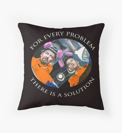 For Every Problem Throw Pillow