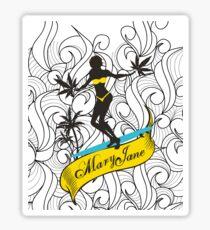 Mary Jane 3 Sticker