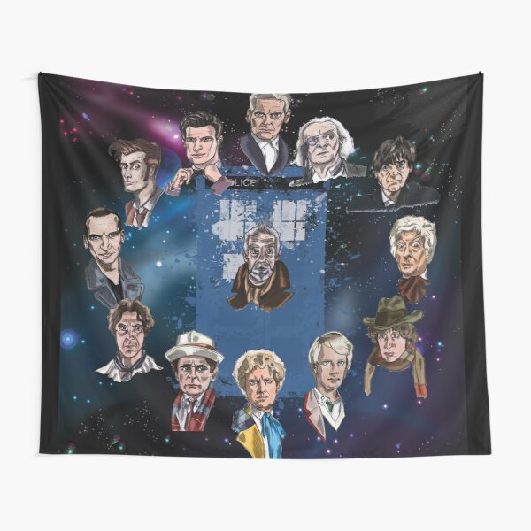 Lords of Time Tapestry