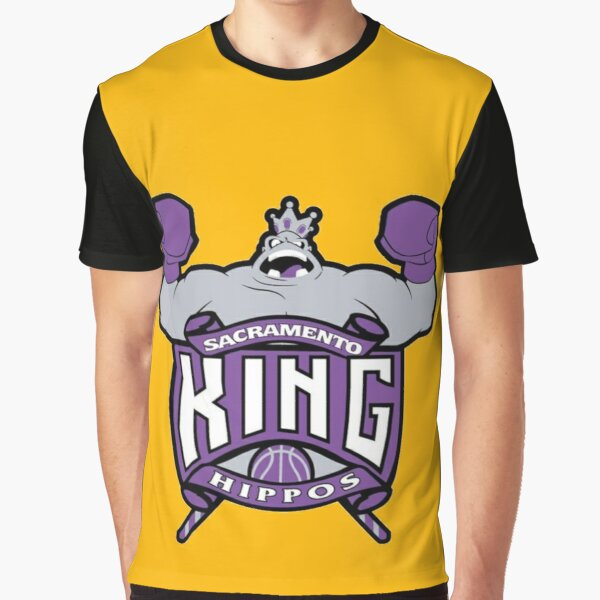 King Hippo Punch-Out Video game Parody Logo Graphic T-Shirt