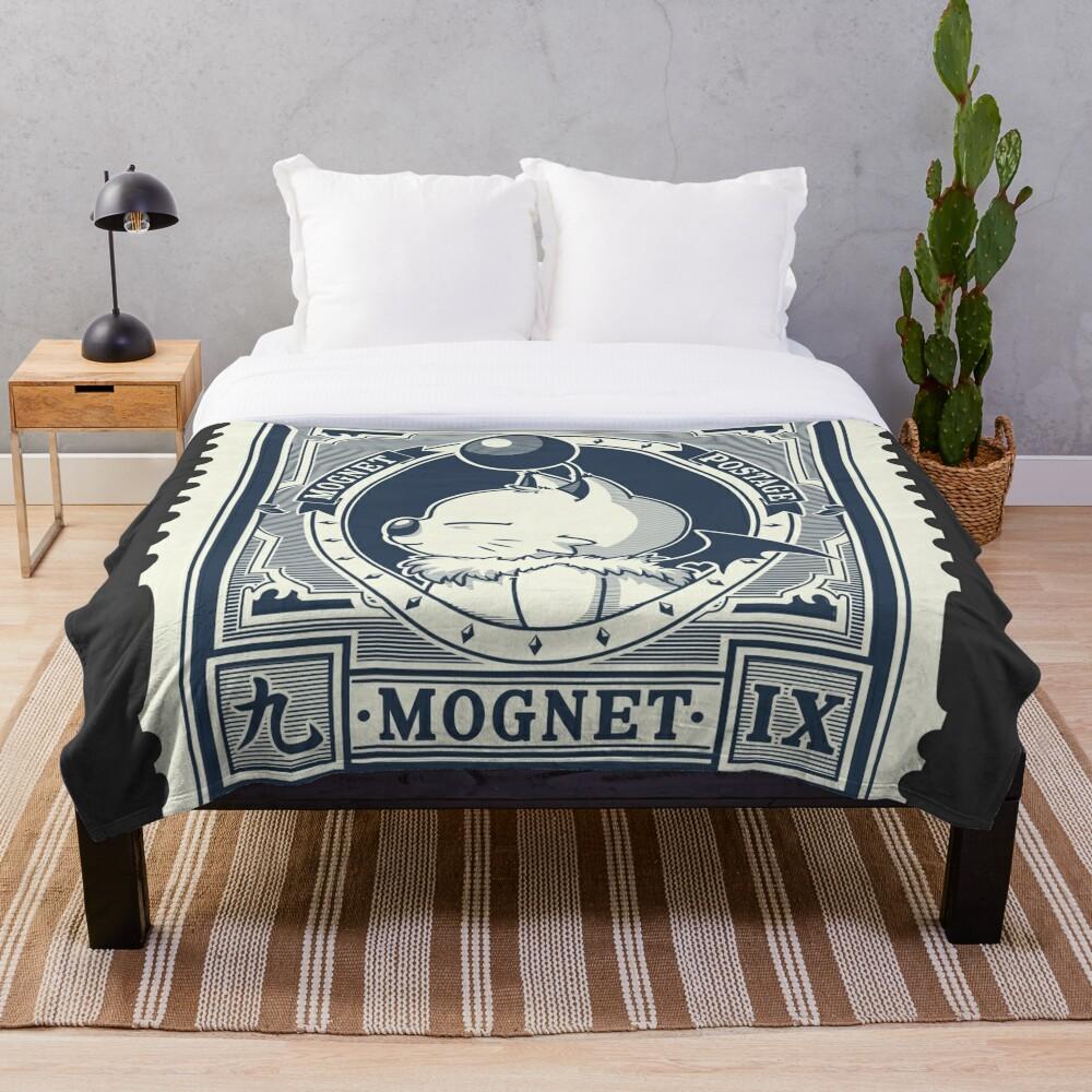 Mognet Mail (2C Version) Throw Blanket