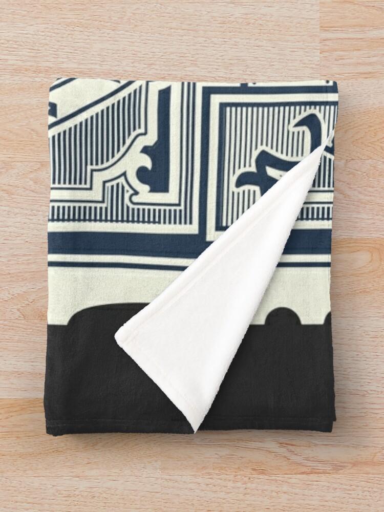 Alternate view of Mognet Mail (2C Version) Throw Blanket
