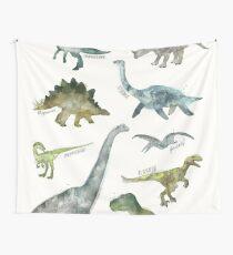 Tela decorativa Dinosaurios