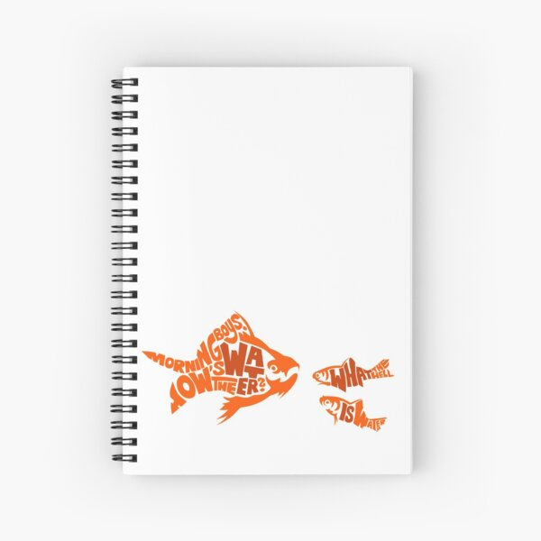 This is water Spiral Notebook