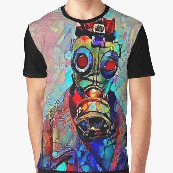 Abstract Sky Stalker Graphic T-Shirt