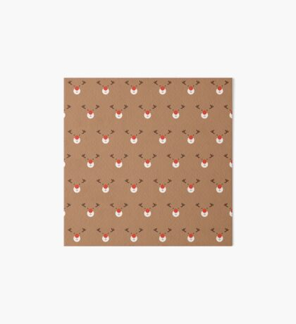 Rudolph Clones (Patterns Please) Art Board Print