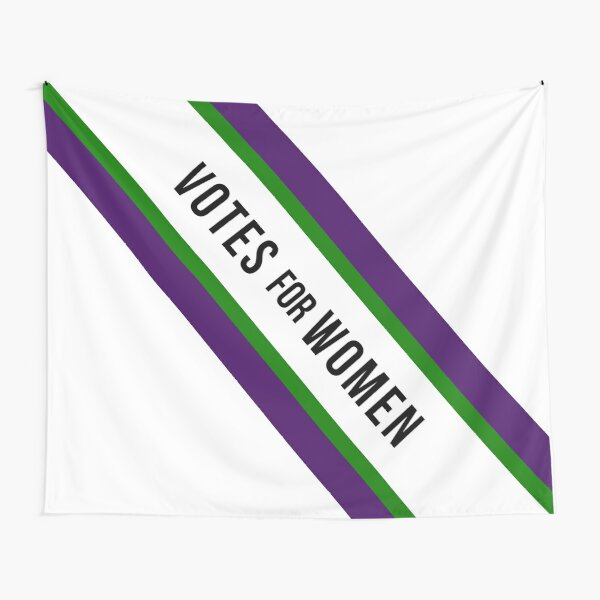 Votes for Women Suffragette Sash Tapestry