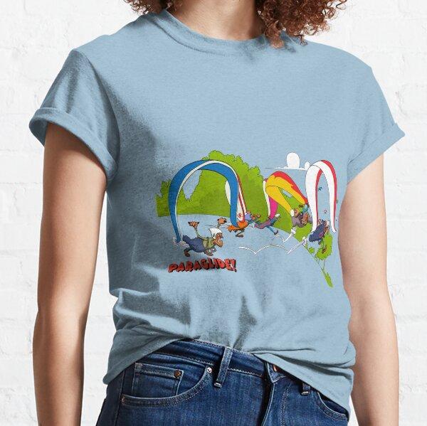 Lancement de parapente T-shirt classique