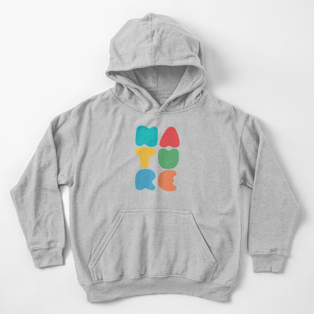 Bold Nature Kids Pullover Hoodie