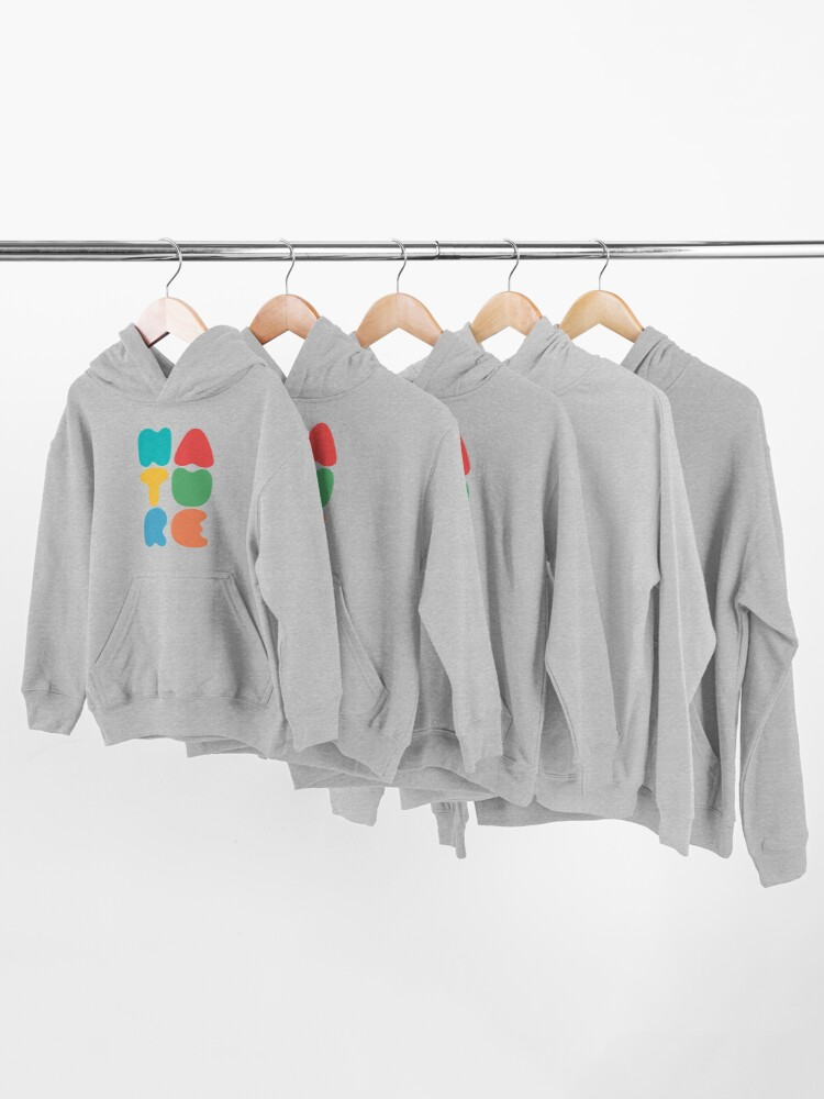 Alternate view of Bold Nature Kids Pullover Hoodie