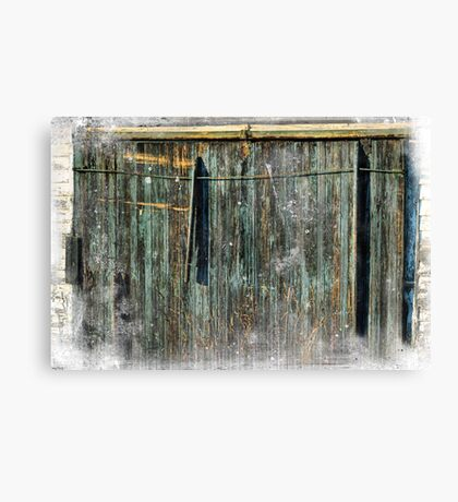The Weathered Barn Door Canvas Print