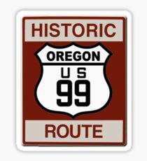 Oregon Highway 99 Sticker