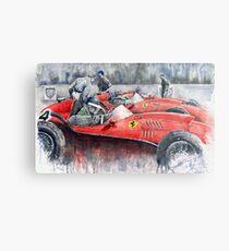 Ferrari Dino 246 F1 1958 Mike Hawthorn French GP Metal Print