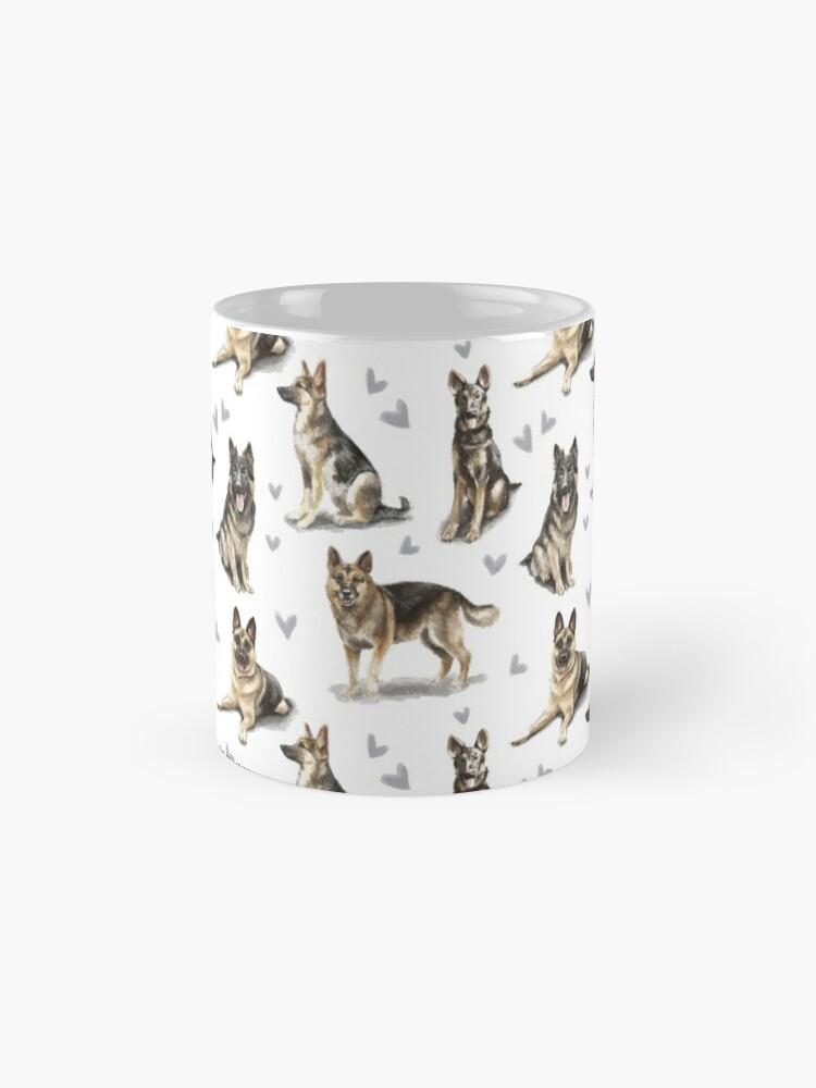 Alternate view of German Shepherd Dog Mug