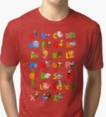 ABC (english) Tri-blend T-Shirt