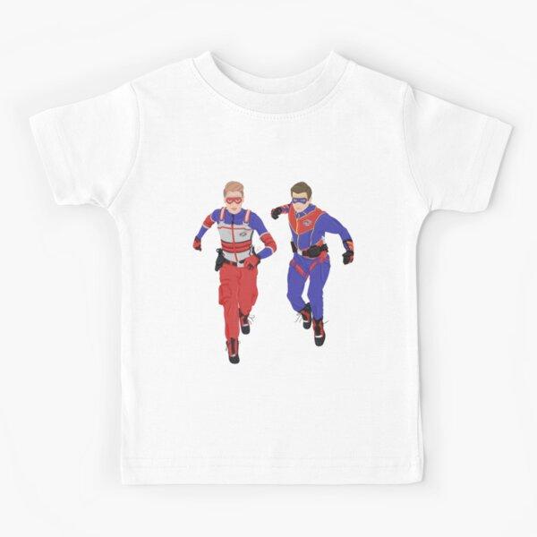 Capitán Man and Kid Danger - Heroic Digital Camiseta para niños