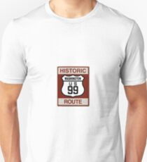 Washington Highway 99 Unisex T-Shirt