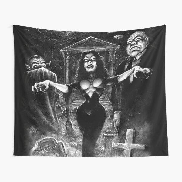 Vampira Plan 9 zombies Tapestry