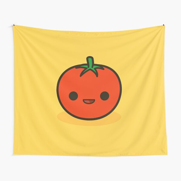 Cute tomato Tapestry