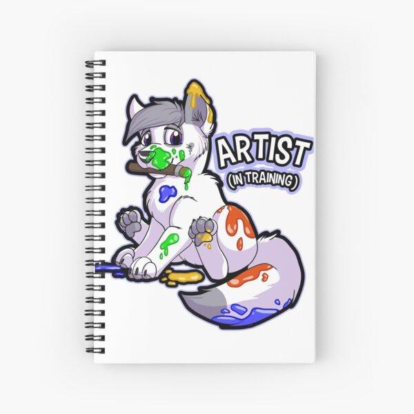 Artista (en entrenamiento) Cuaderno de espiral