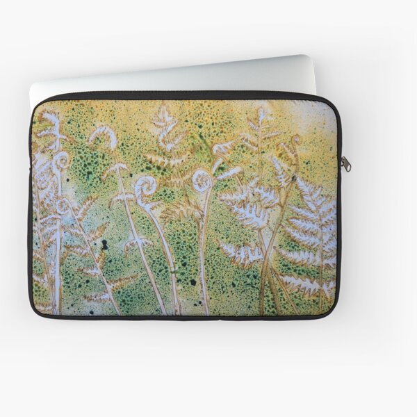 Ferns and Ink Laptop Sleeve