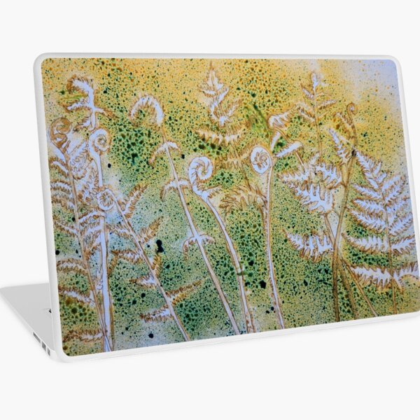 Ferns and Ink Laptop Skin