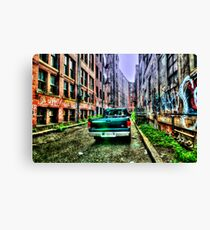 Public Alley  Canvas Print