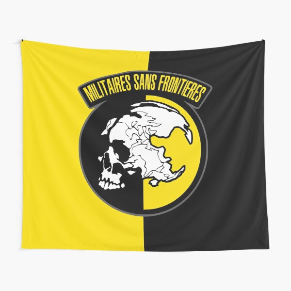 MGS - Militaires Sans Frontieres Logo Tapestry
