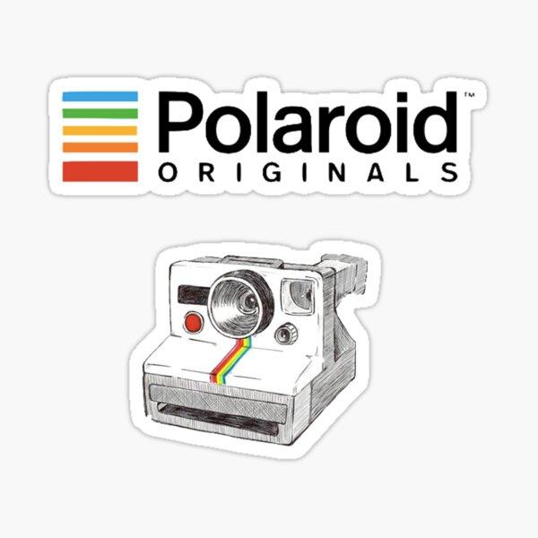 Polaroid vintage Pegatina