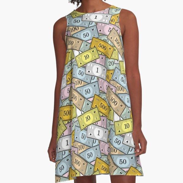 Game Money A-Line Dress