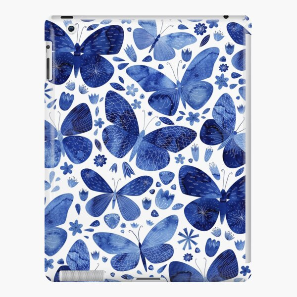 Blue Butterflies iPad Snap Case