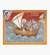 St Brendan the Navigator Photographic Print