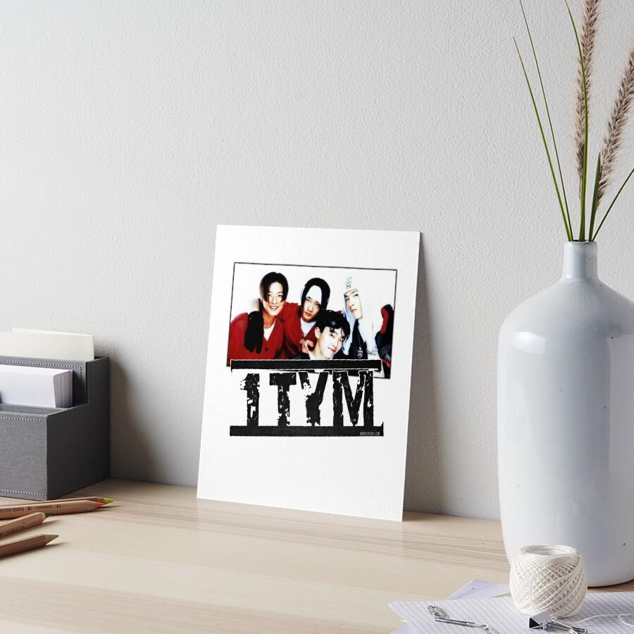 1tym smiles 원타임 90s kpop Art Board Print