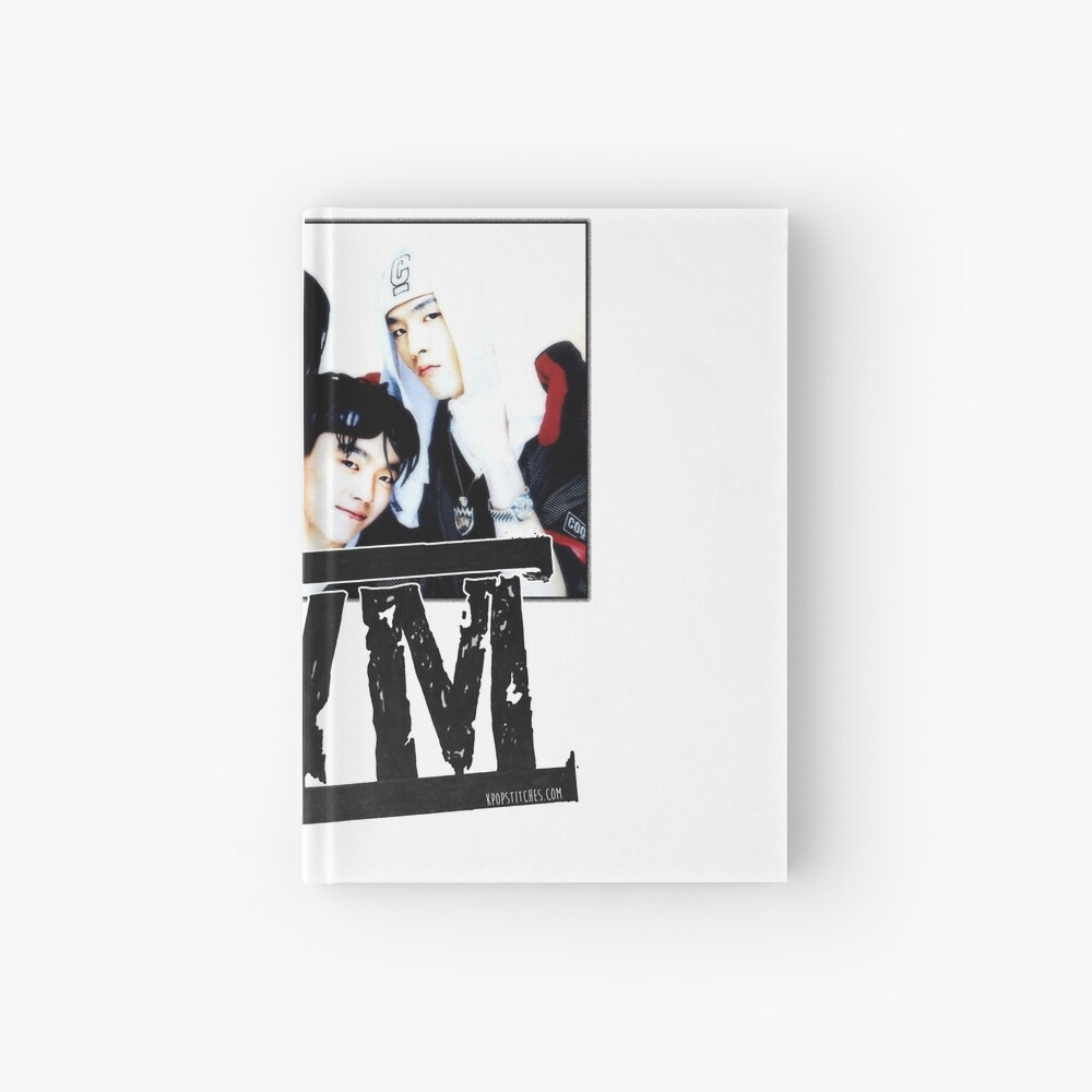 1tym smiles 원타임 90s kpop Hardcover Journal