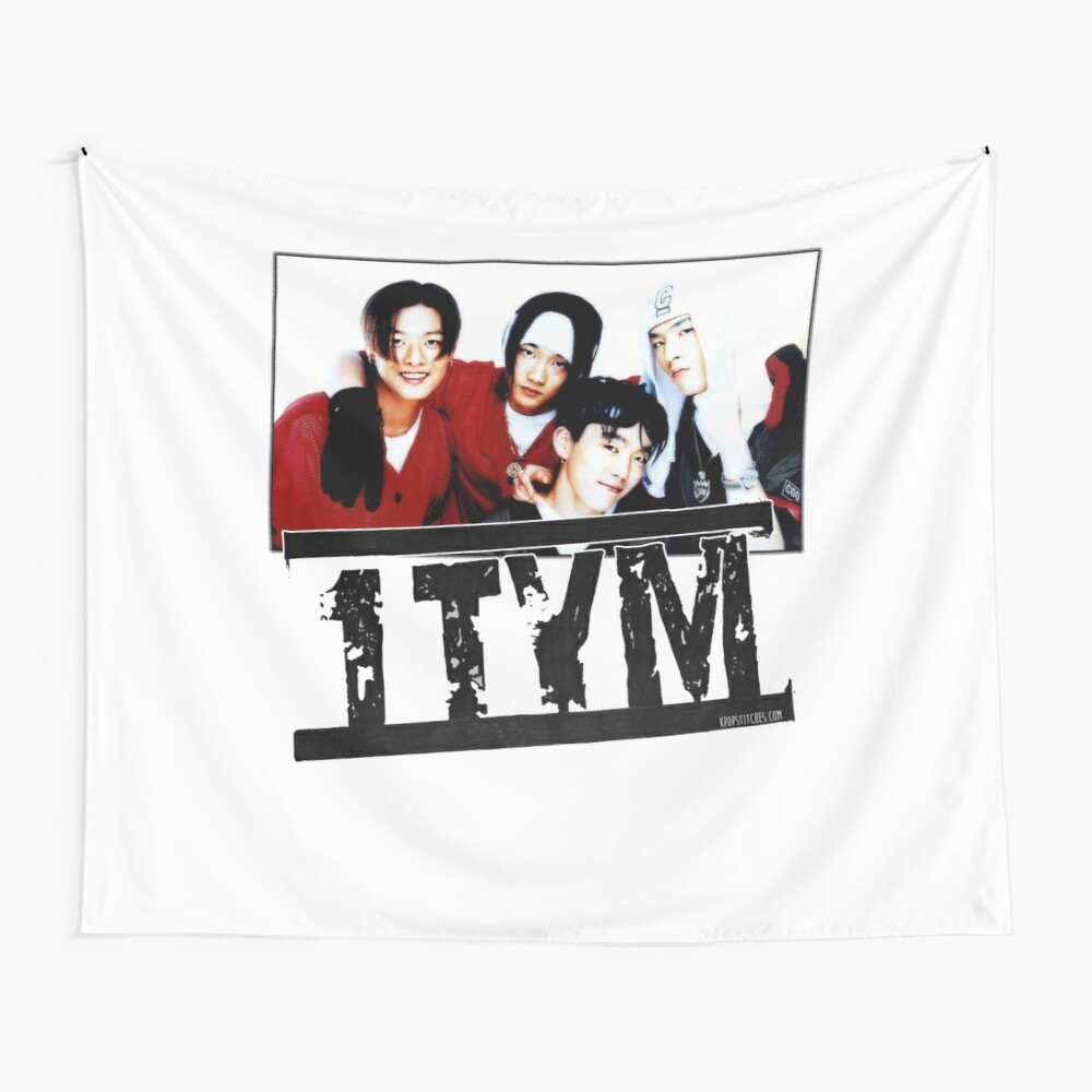1tym smiles 원타임 90s kpop Wall Tapestry