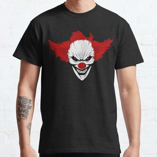 Evil Clown Halloween Killer Clowns  Classic T-Shirt