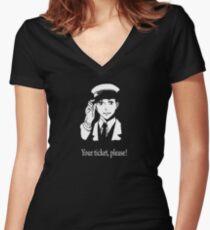 Vino! Baccano! Women's Fitted V-Neck T-Shirt