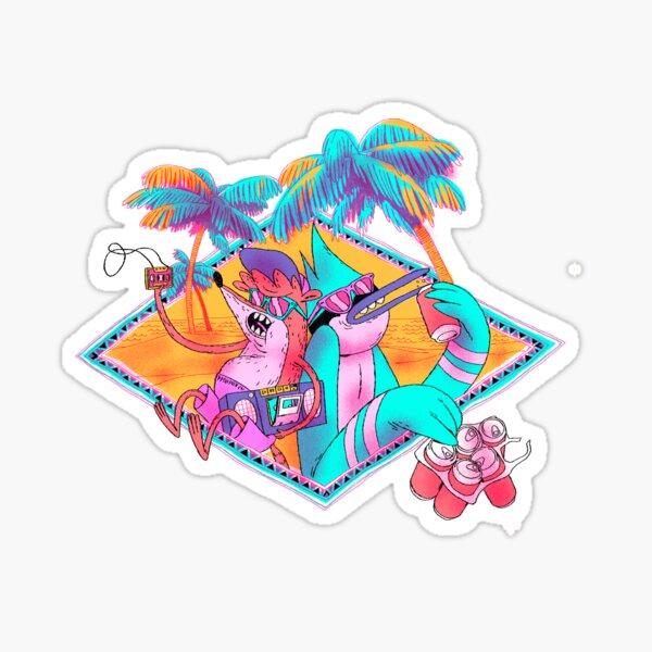 Regular show. Summertime Sticker