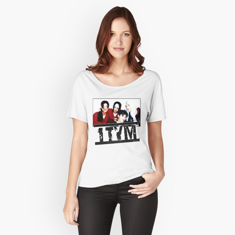 1tym smiles 원타임 90s kpop Relaxed Fit T-Shirt