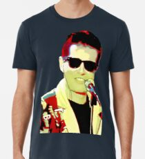 Camiseta premium Falco Retro 3D