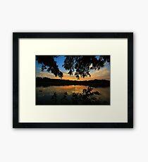 A moment  Framed Print