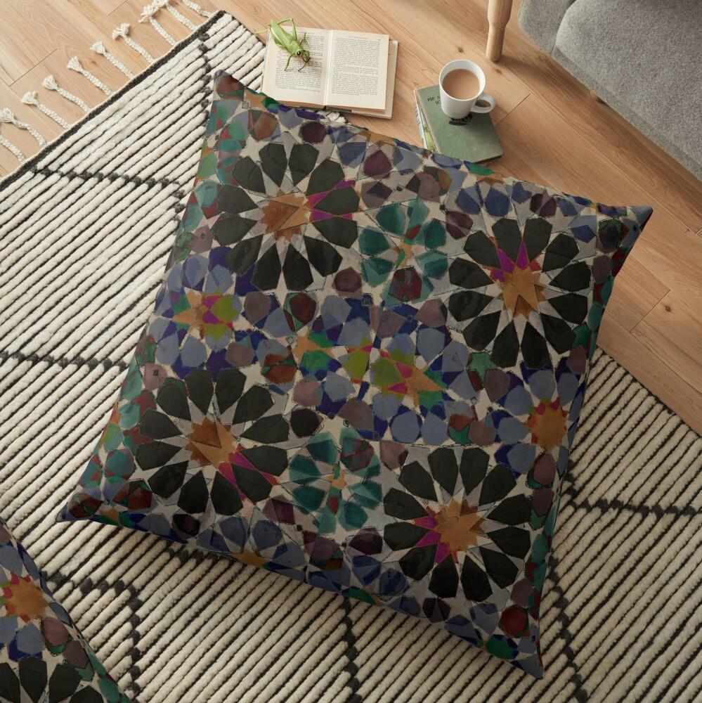 Alhambra Dreams Floor Pillow