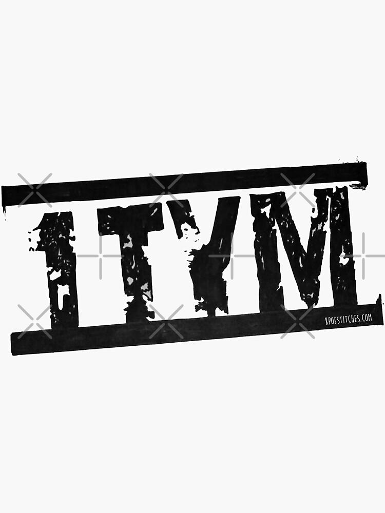 1TYM logo 원타임 90s kpop by dubukat