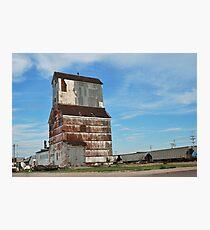 Grain Elevator Photographic Print